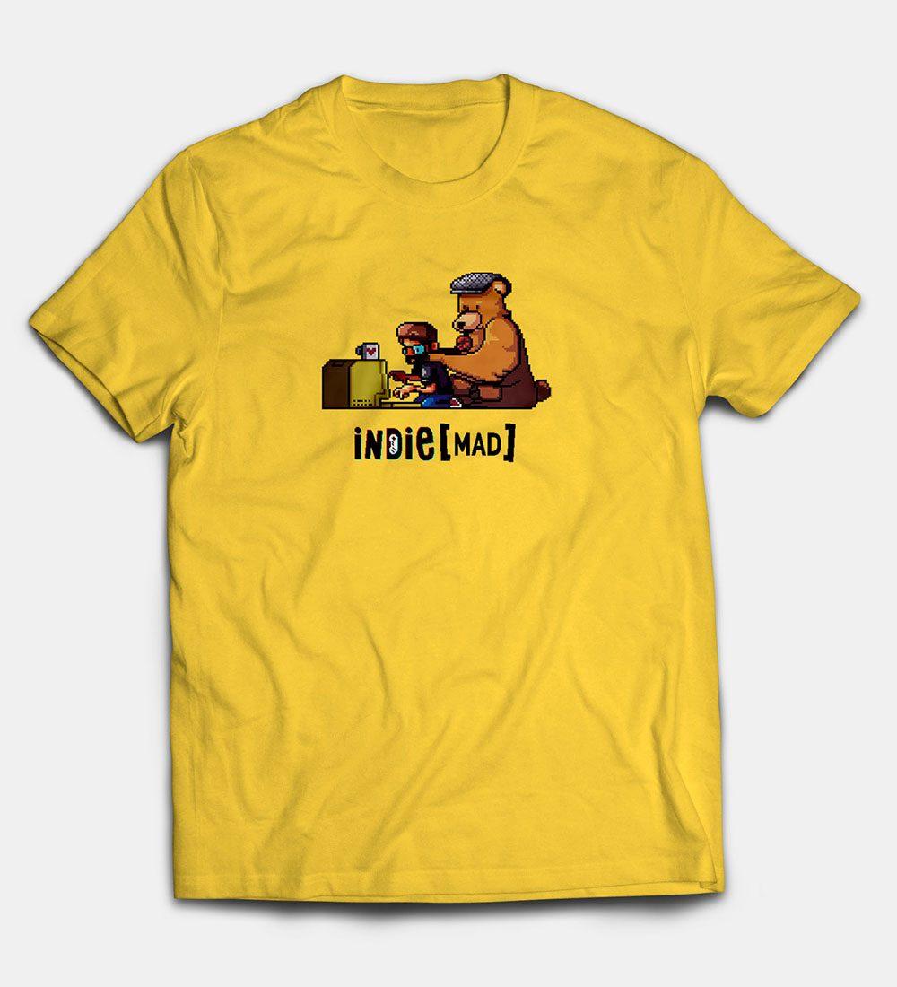 Camiseta Amarilla Indie[MAD]